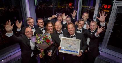 (c) Roel Dijkstra / Foto: Joep van der Pal   Rotterdam - Uitreiking Nederlandse Logistiek Prijs - winnaar Auping