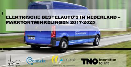 In 2025 Mogelijk 100 000 Elektrische Bestelauto S Op De Nederlandse